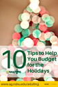 10 Tips Holiday Budget