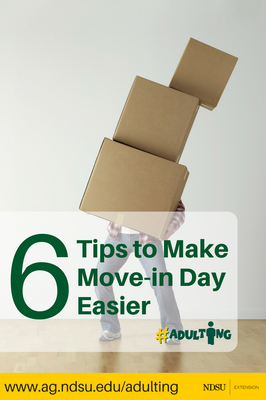 6  Tips to make movein day easier
