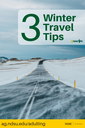 3 Winter Travel Tips