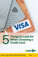 5 Things to Look for when Choosing a Credit Card