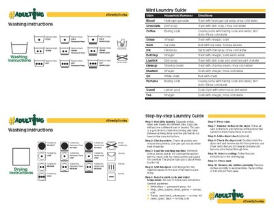 Mini Laundry Guide page 2