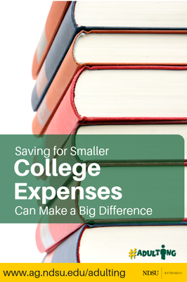 Save for Small College Expenses