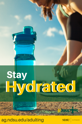 stay hydrated