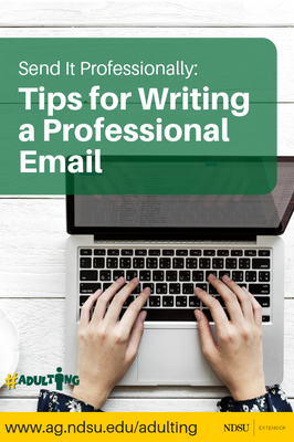 Tips for Writing a Professional Email