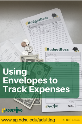 Using Envelopes to Track Expenses