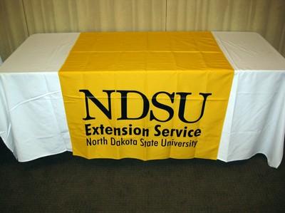 NDSU gold banner