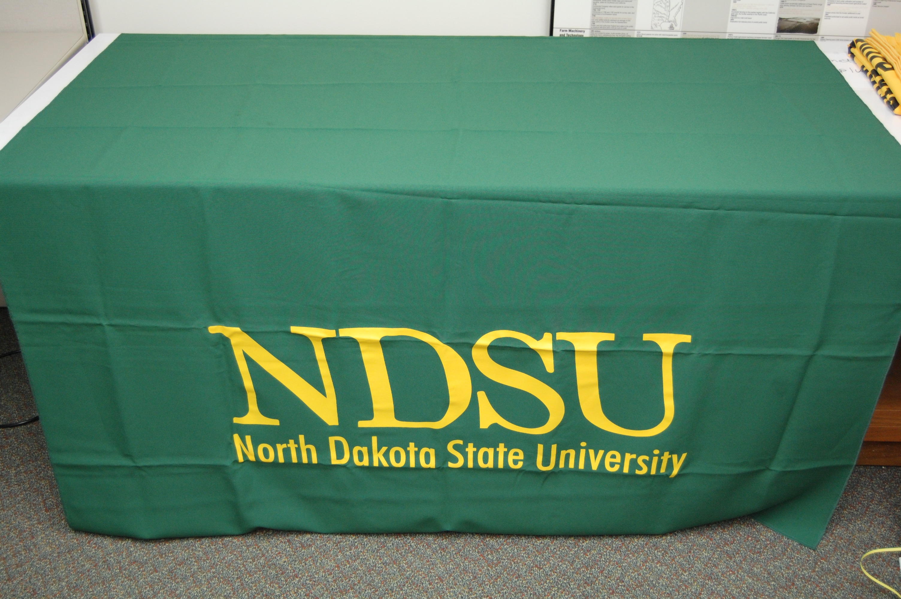 Green NDSU Table Runner