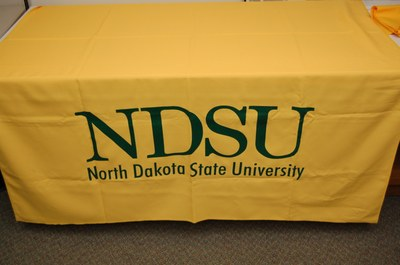 Yellow NDSU Table Runner