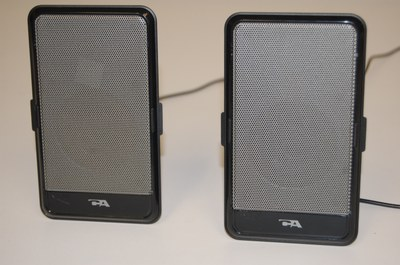 Cyber Acoustics USB Powered Speakers for computer, laptop or iPod
