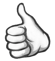 Image: Wikimedia Commons https://commons.wikimedia.org/wiki/File:Thumbs_up_icon_fixed.png
