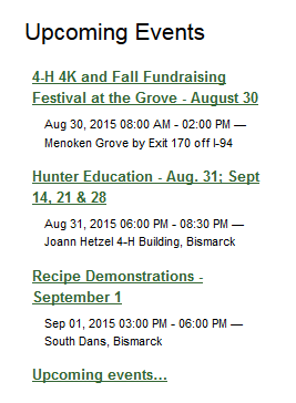 Burleigh events