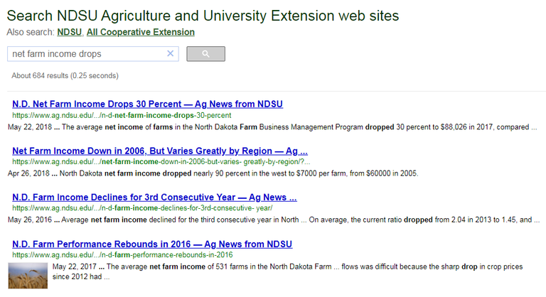 Search results for net farm income drops without quotes