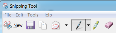 MS snipping tool