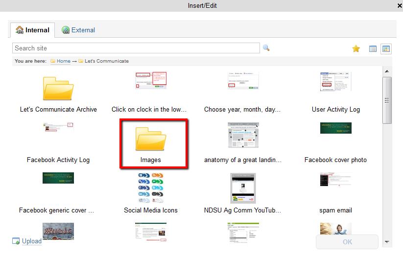 Find the Images folder