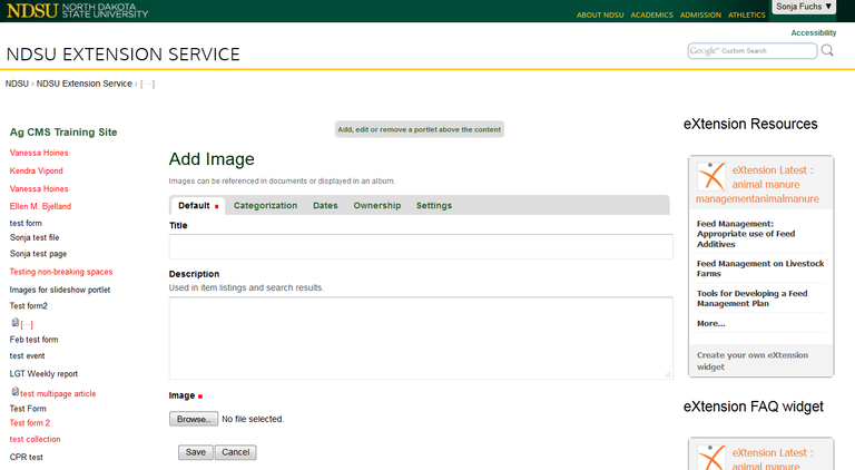 upload image to ag cms