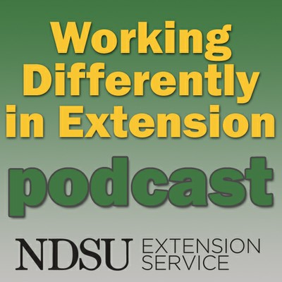 Working Differently in Extension Podcast Logo