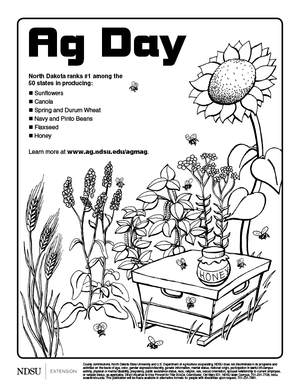 Ag Day Coloring Sheets 2