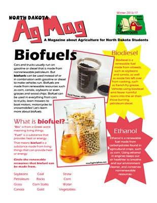 Ag Mag - Biofuels Cover