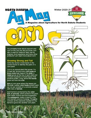 Ag Mag - Corn cover page