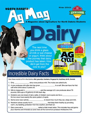 Ag Mag - Dairy cover page
