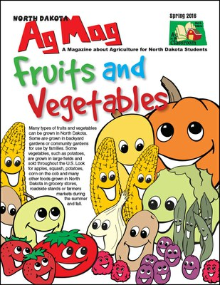 Ag Mag - Fruits and Vegetables cover page