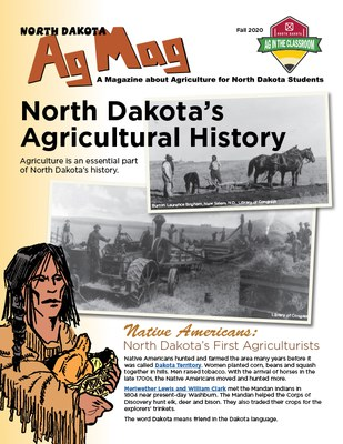 Ag Mag - North Dakotas Agricultural History cover page