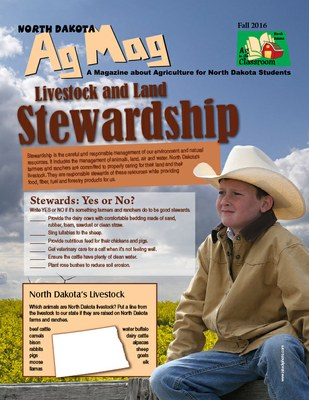 Livestock and Land Stewardship Ag Mag Cover