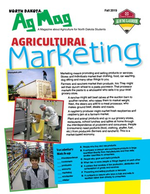 Ag Mag - Agricultural Marketing cover page