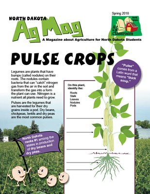 Ag Mag - Pulse Crops and Dry Edible Beans cover page