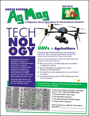 Ag Mag - Technology cover page