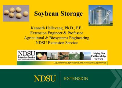 Soybean Storage