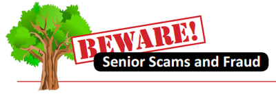 Beware! Senior Scams logo