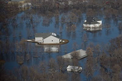 ND flooded homes