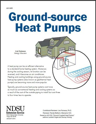 AE-1483 Ground source heat pump