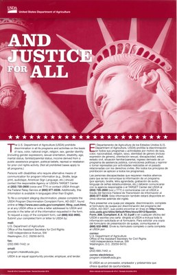 Poster - And Justice for All