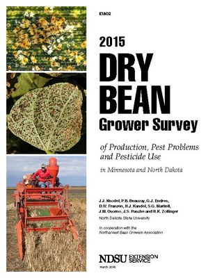 E1802-Image-2015 Dry Bean Grower Survey of Production, Pest Problems and Pesticide Use in Minnesota and North Dakota