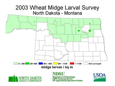 2003 Wheat MidgeMap