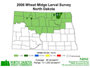 2006 Wheat Midge Map