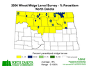 2006 Wheat Parasitoid Map