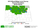 2012 Wheat Parasitoid Map