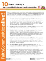 10 Tips to Creating a Successful Faith Comm