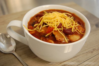 Hearty Spicy Bean Chili