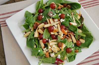 Fruit Cheese and Nut Salad
