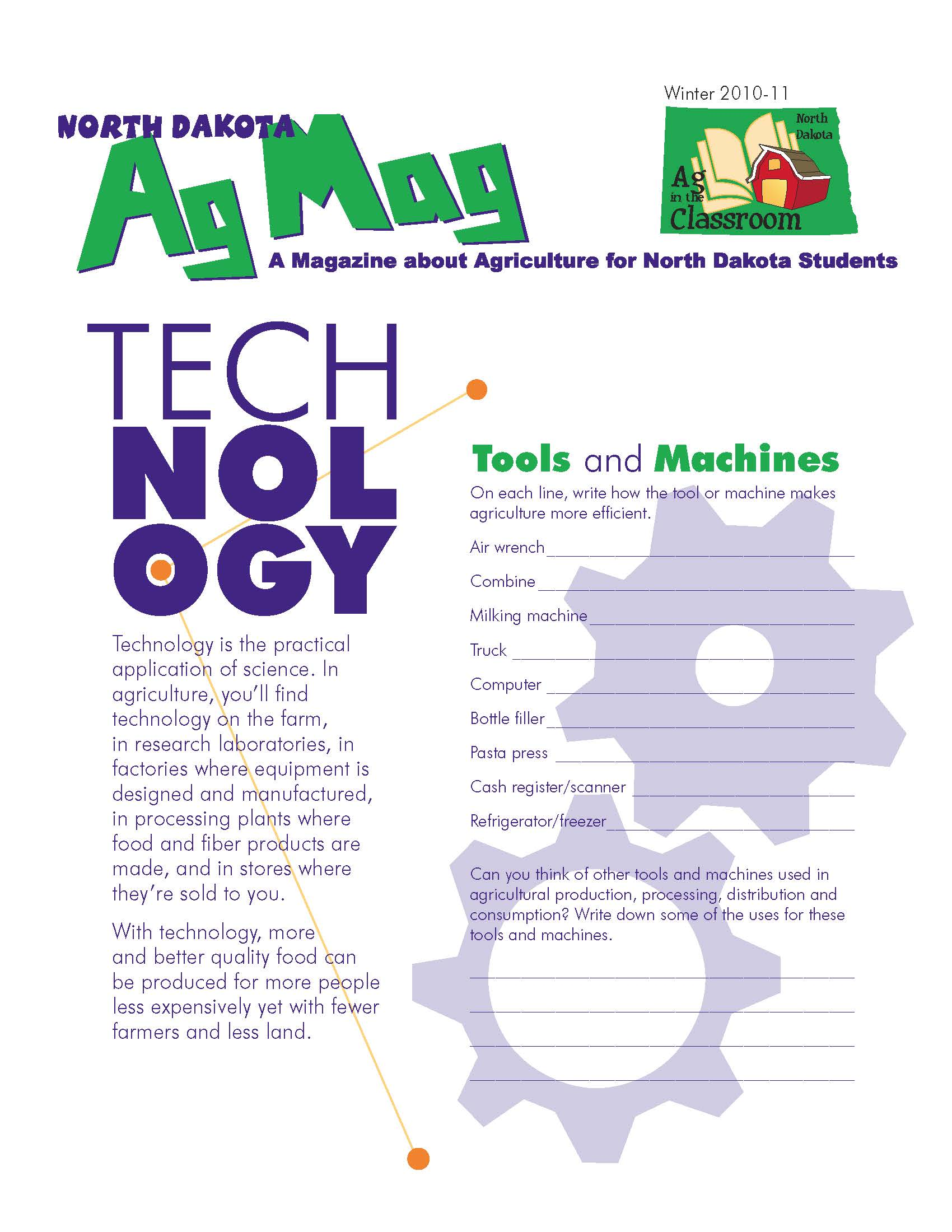 Agriculture Tech Agmag Student