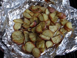 Potato Packets for the Grill