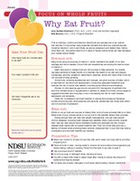 Why Eat Fruit FN 1843