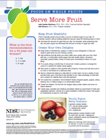 Serve more fruit (FN1846)