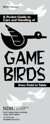Game Birds- Field to Table