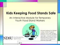Kids Keeping Food Stands Safe