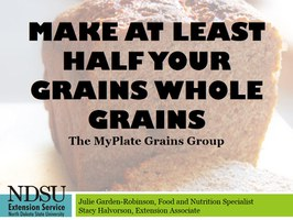 MyPlate Grains